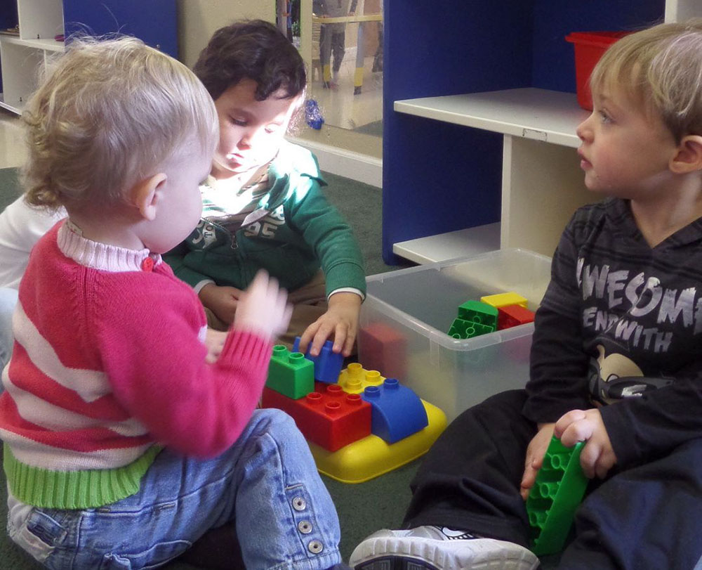 children playing together at a Preschool & Daycare Serving Fort Erie, CO, Kansas City, KS