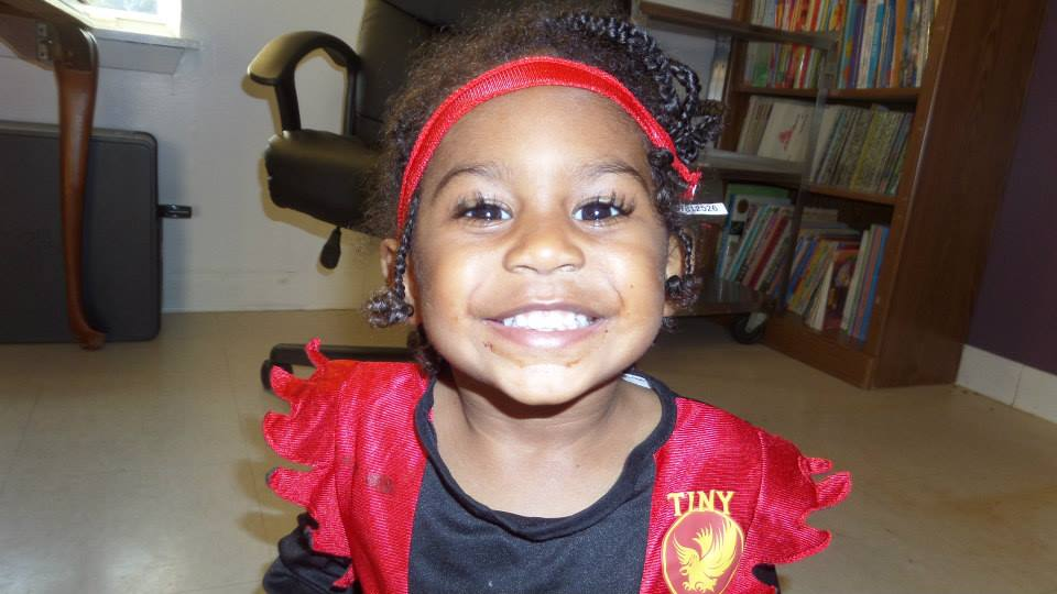 Happy toddler at a preschool & childcare center Serving Erie, CO & Kansas City, KS